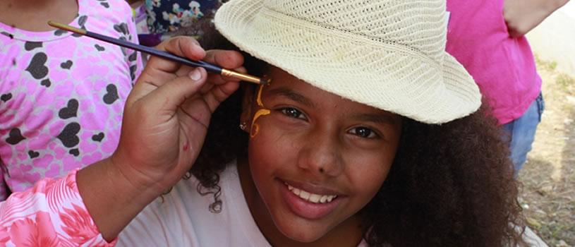 Mil niñas y niños celebraron el Mes de la Niñez en Villas de San Pablo