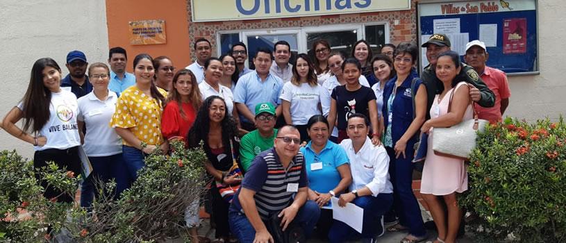 Unidos por Villas de San Pablo, territorio de esperanza