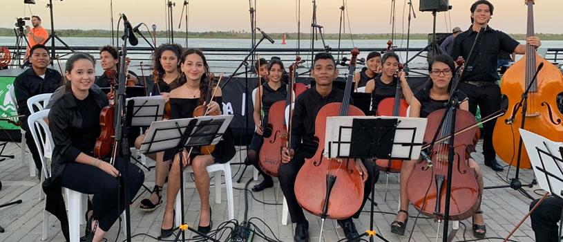Alcaldía Distrital de Barranquilla, invitó a Vibrato a engalanar el encendido de luces navideñas de la ciudad