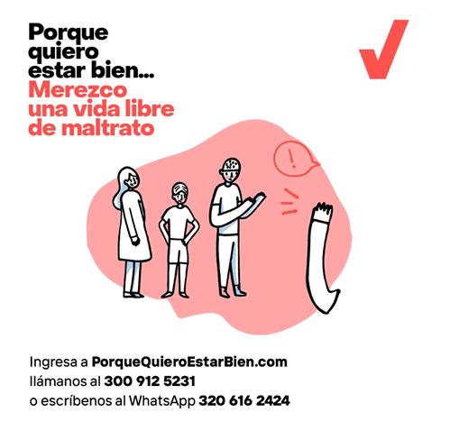 """Fundación Santo Domingo, en alianza con Profamilia, lanza la plataforma """"Porque Quiero Estar Bien"""""""