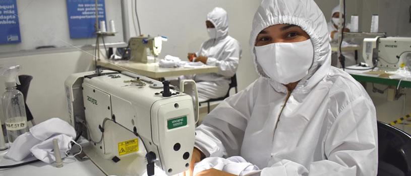 Tapabocas de calidad con el sello de mujeres emprendedoras