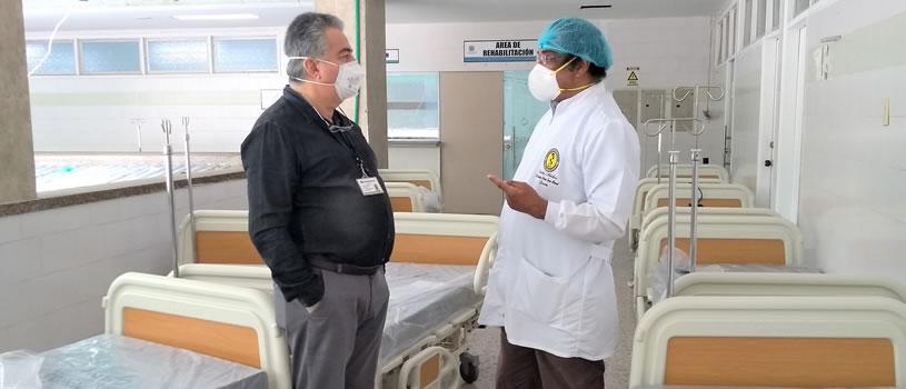 Con donación de la Fundación Santo Domingo el HUC sigue fortaleciendo su UCI