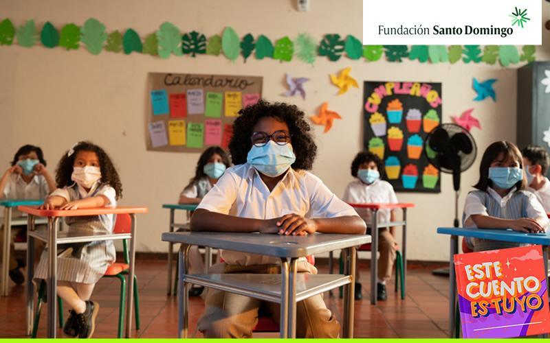 Esta campaña busca fomentar el acceso y la permanencia escolar en Colombia