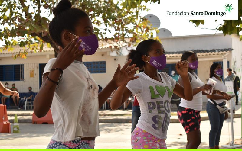 Saludable conmemoración del Día de la Mujer en Barú