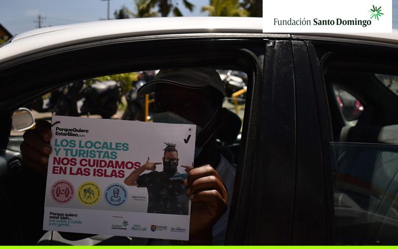 'Porque quiero estar bien', la campaña para la prevención del COVID-19, llegó a San Andrés y Providencia