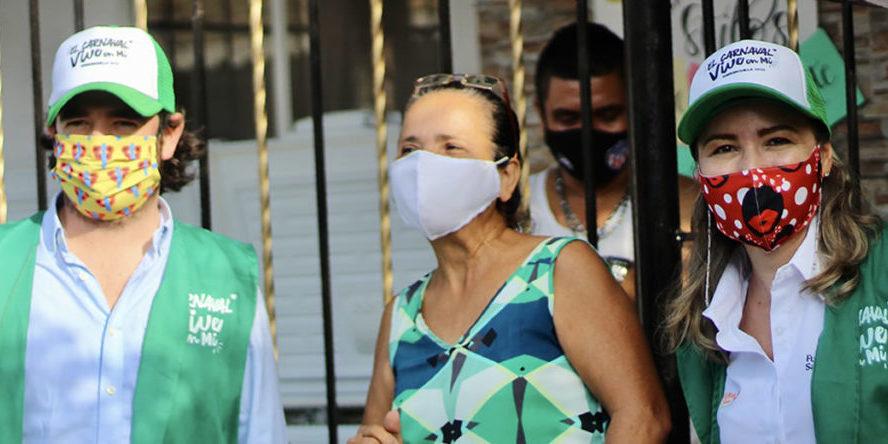 Así fue la campaña pedagógica que promovió el autocuidado y la tradición en el marco del Carnaval de Barranquilla