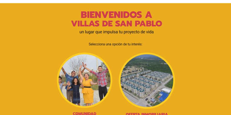Macroproyecto Villas de San Pablo lanzó su sitio web oficial